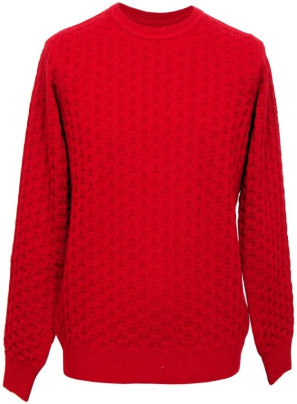 Girocollo 100% pura lana extrafine